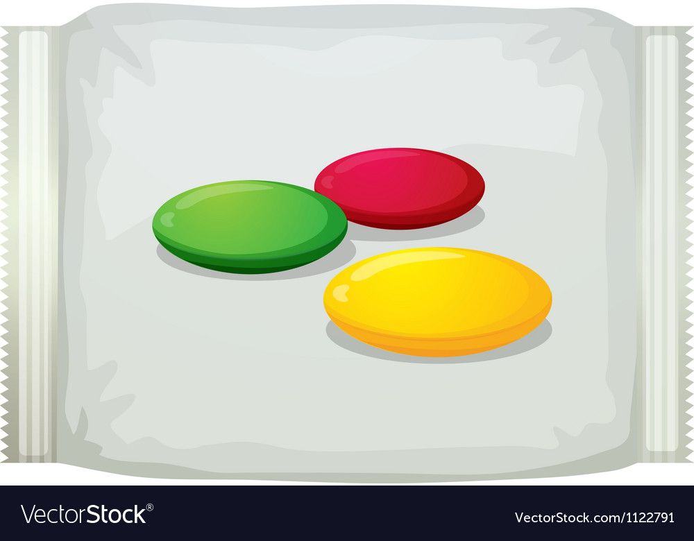A pack of sweets vector | Price: 1 Credit (USD $1)