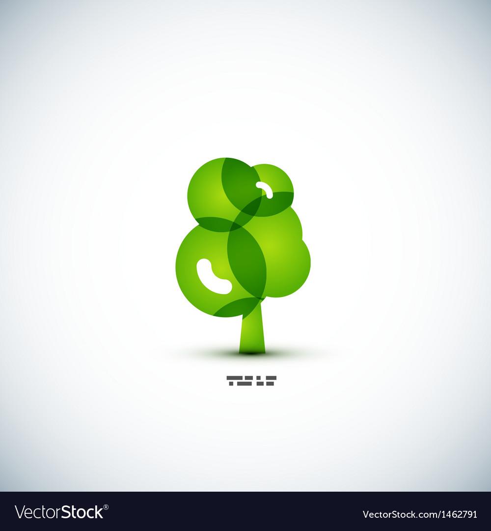 Eco green tree concept vector   Price: 1 Credit (USD $1)
