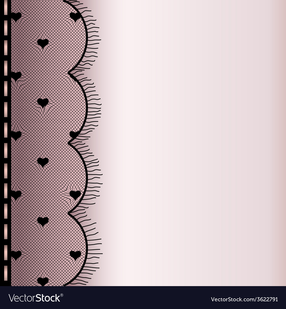 Frame from lace vector | Price: 1 Credit (USD $1)