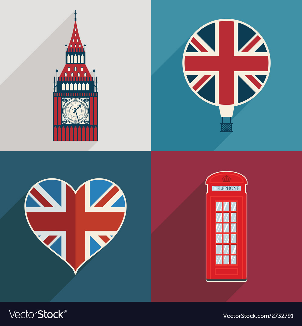 Uk decorations vector | Price: 1 Credit (USD $1)