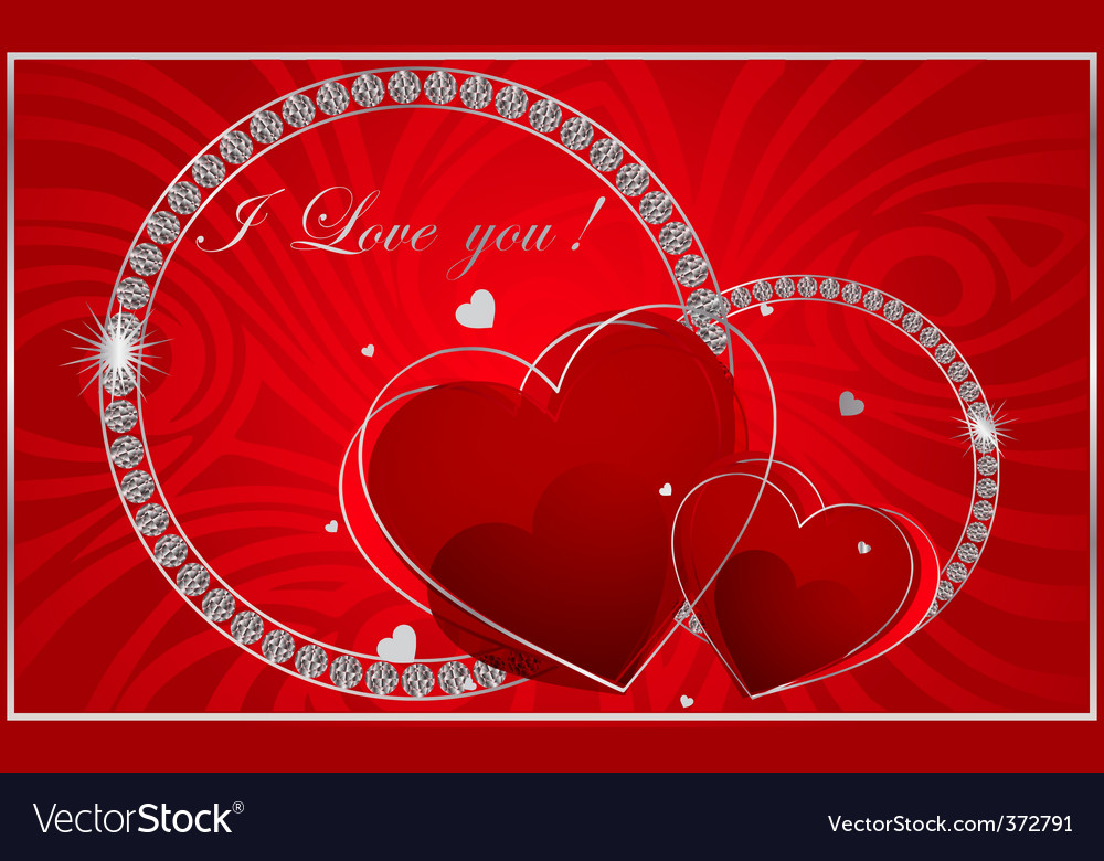 Valentines diamonds vector | Price: 3 Credit (USD $3)