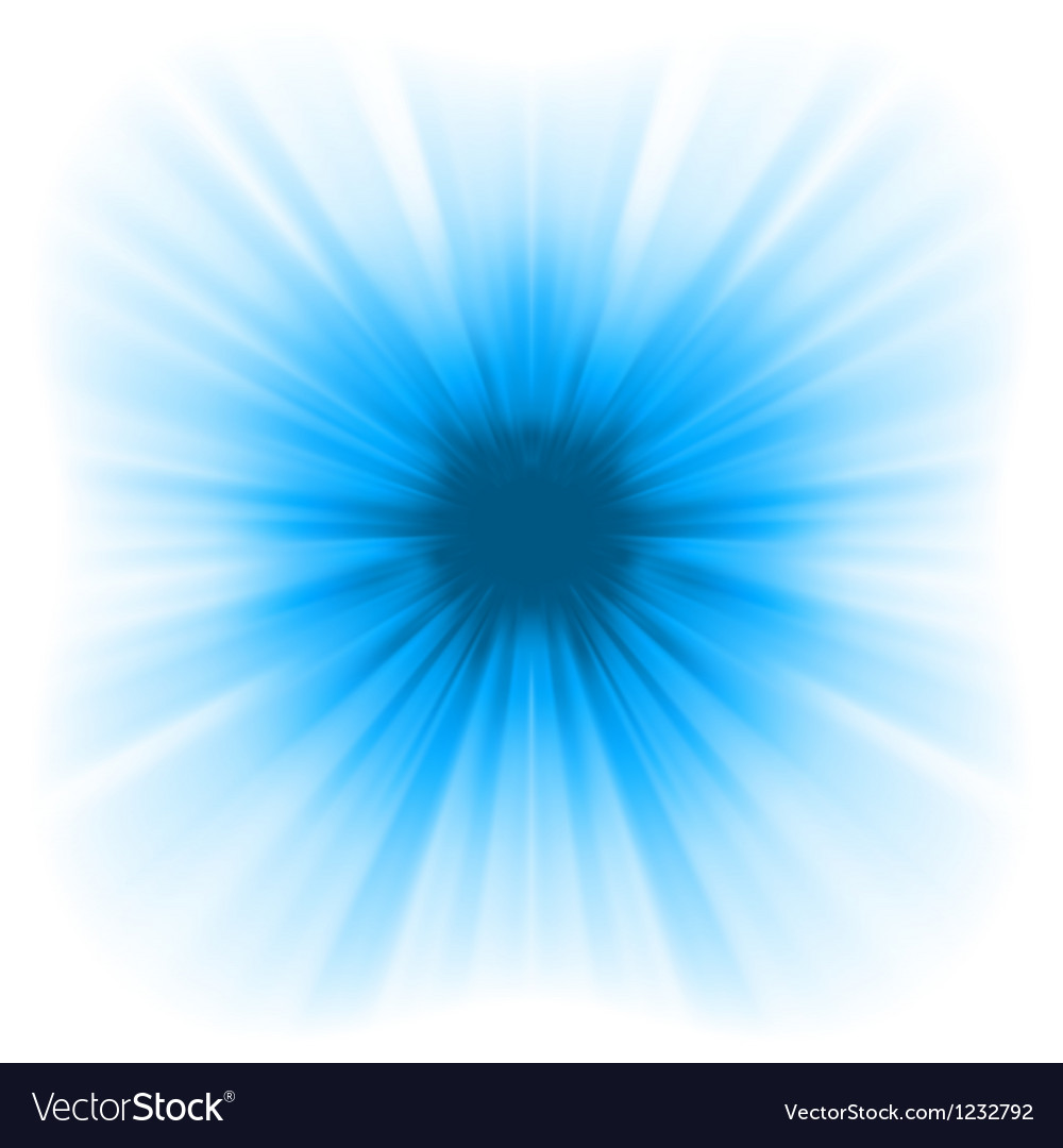 Abstract blue starburst vector | Price: 1 Credit (USD $1)
