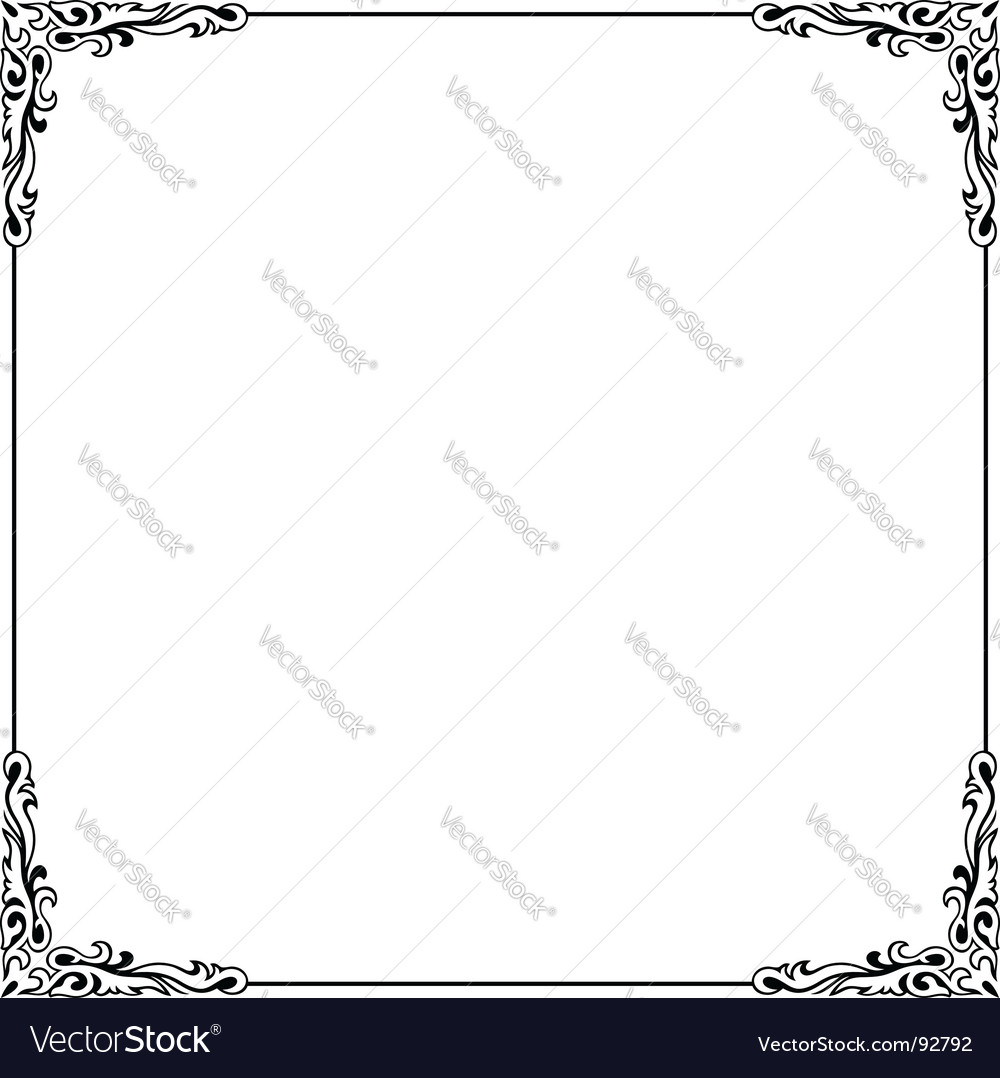 Elegance frame vector | Price: 1 Credit (USD $1)