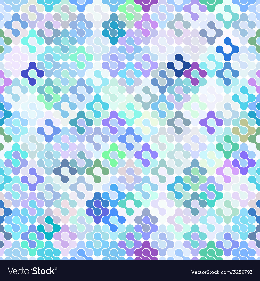 Abstract seamless meta ball pattern vector | Price: 1 Credit (USD $1)