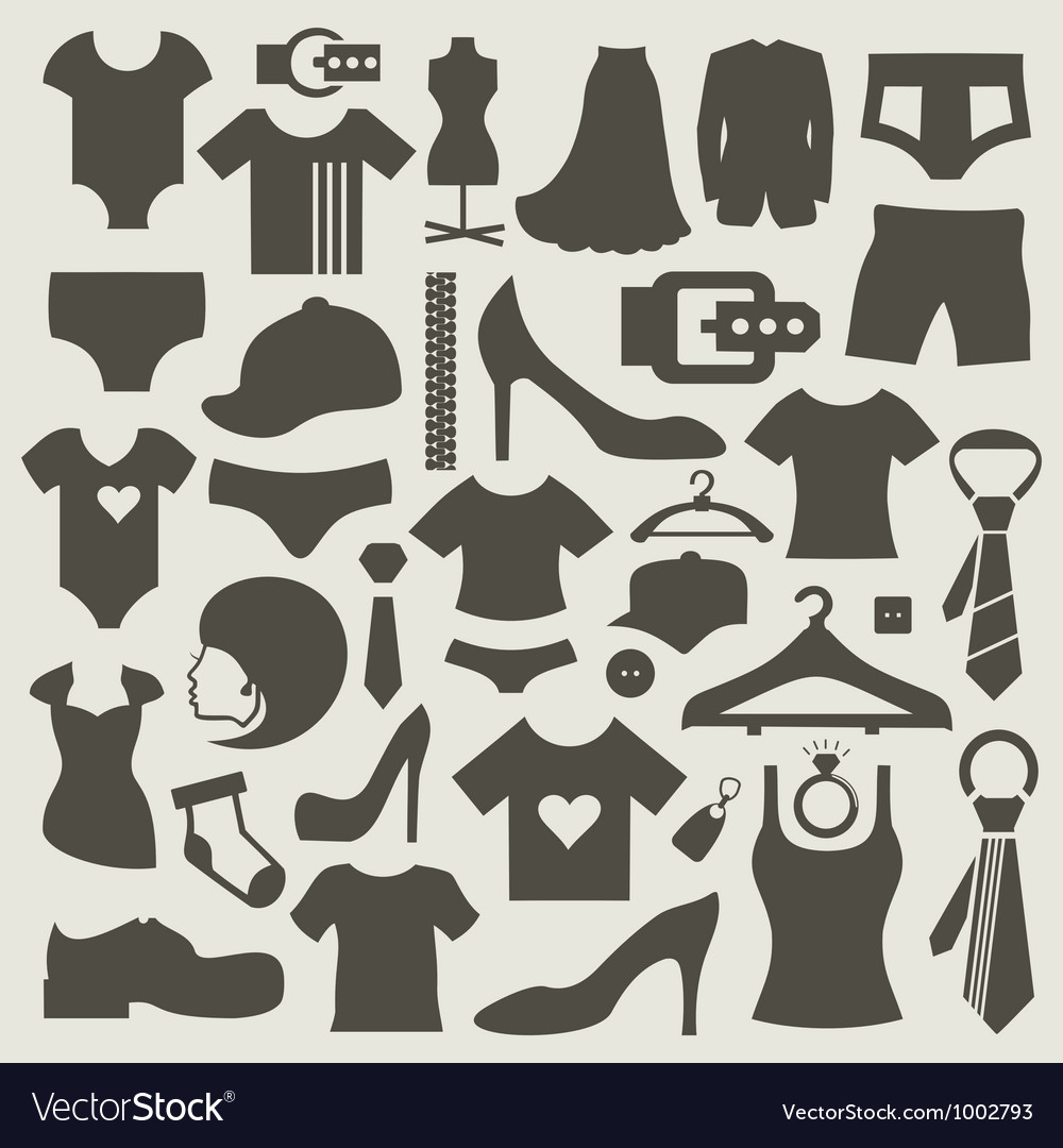 Clothes3 vector | Price: 1 Credit (USD $1)