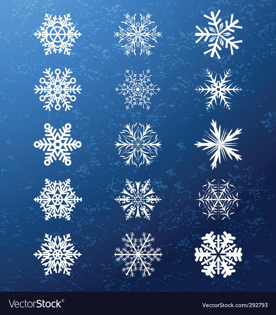 Snowflakes vector   Price: 1 Credit (USD $1)