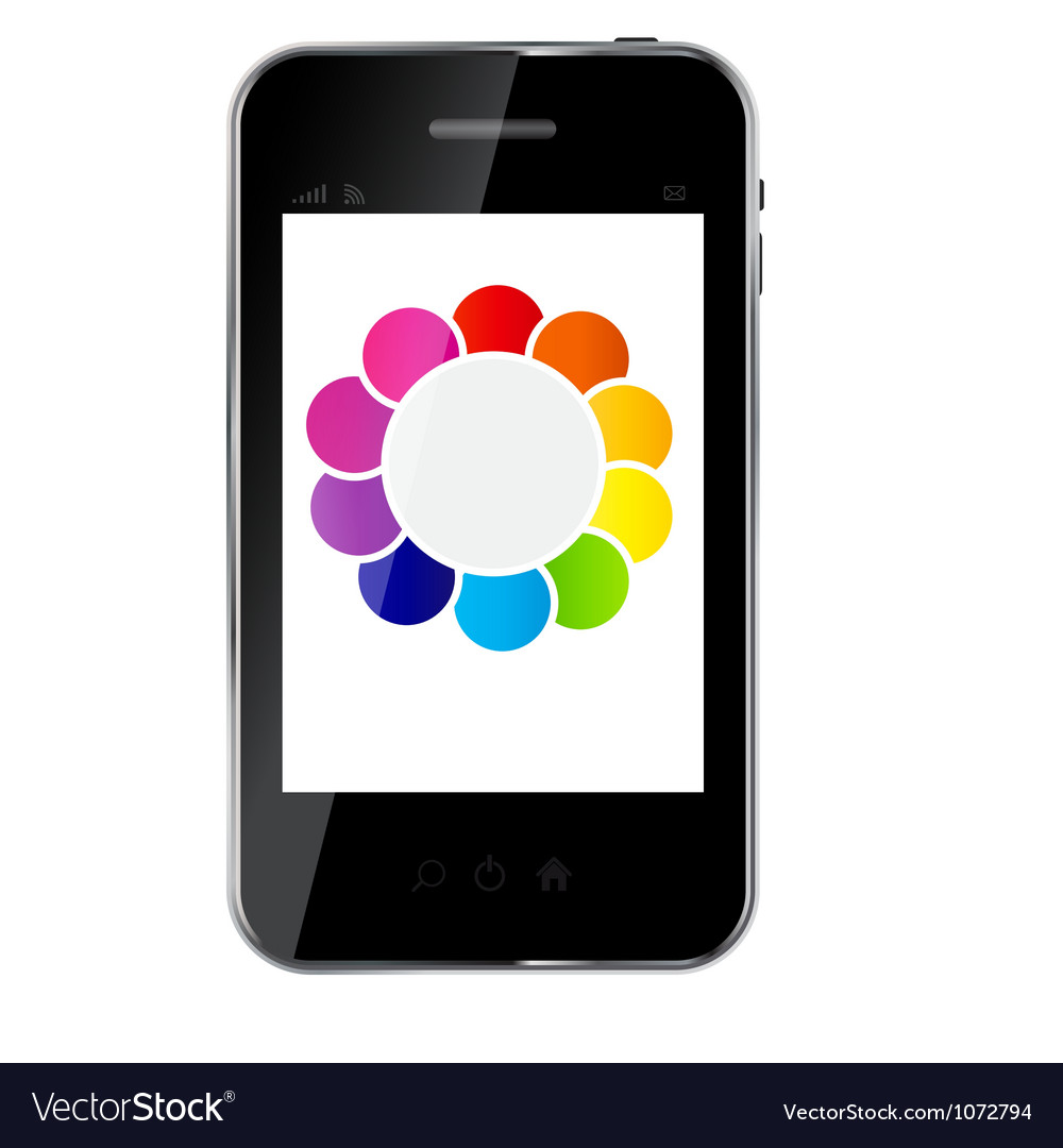Abstract design phone for different business vector | Price: 1 Credit (USD $1)