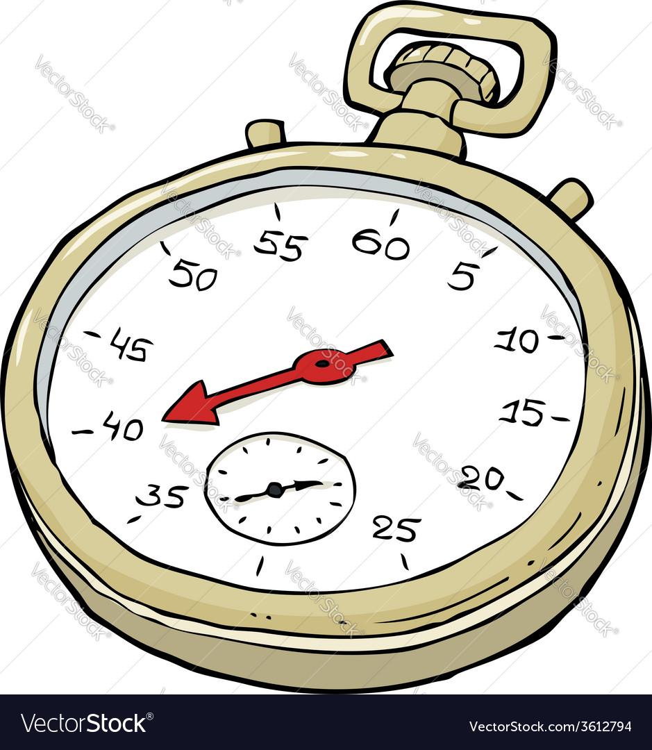 Stopwatch vector | Price: 1 Credit (USD $1)