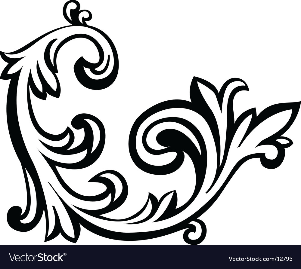 Floral graphics vector | Price: 1 Credit (USD $1)
