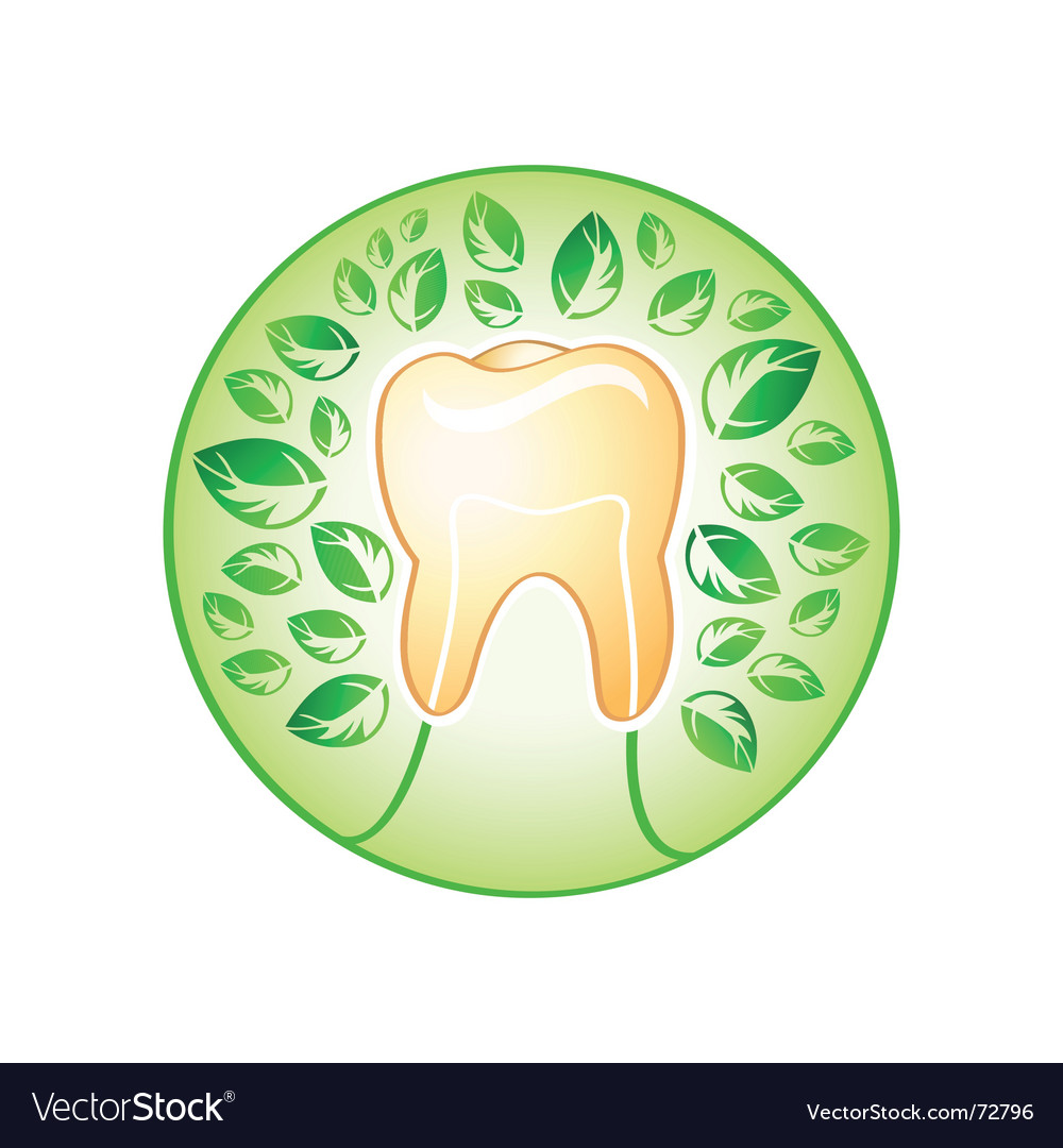 Health tooth vector | Price: 1 Credit (USD $1)