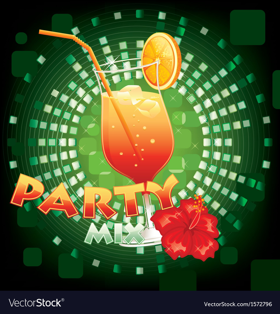 Party mix vector | Price: 1 Credit (USD $1)