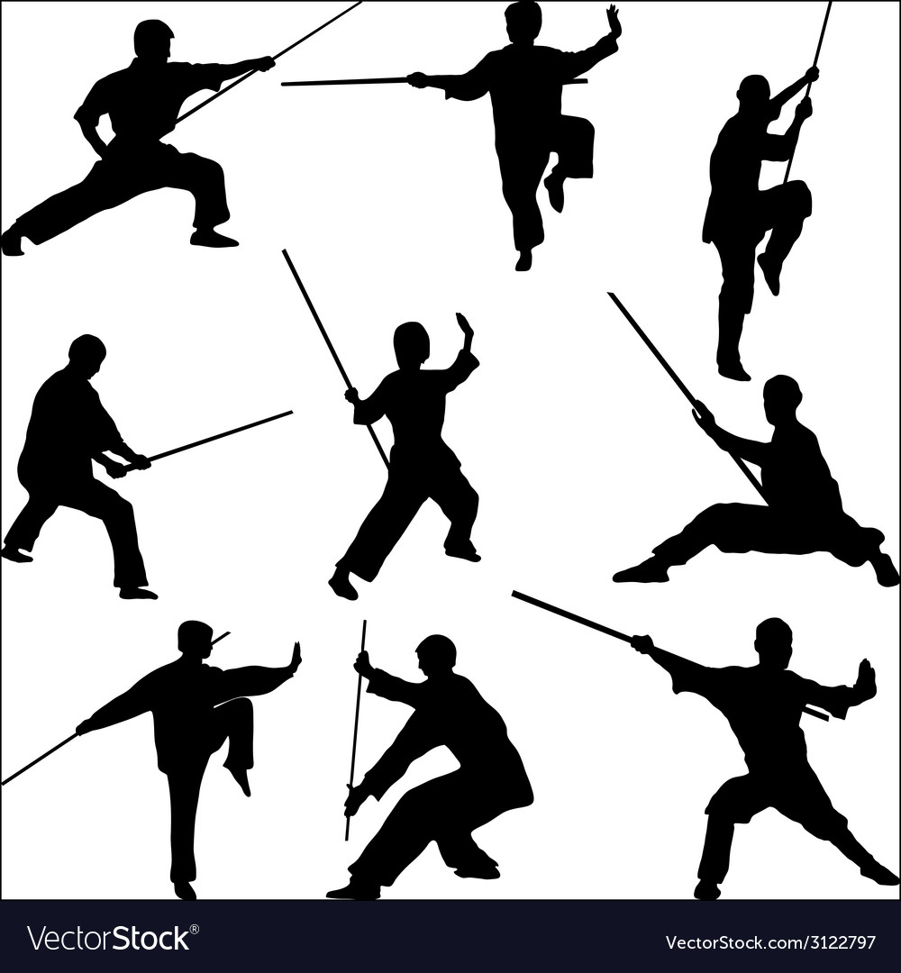 Poses with his staff vector | Price: 1 Credit (USD $1)