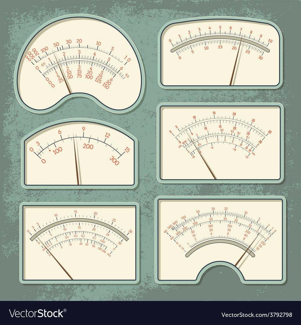 Measurers1 color vector | Price: 1 Credit (USD $1)