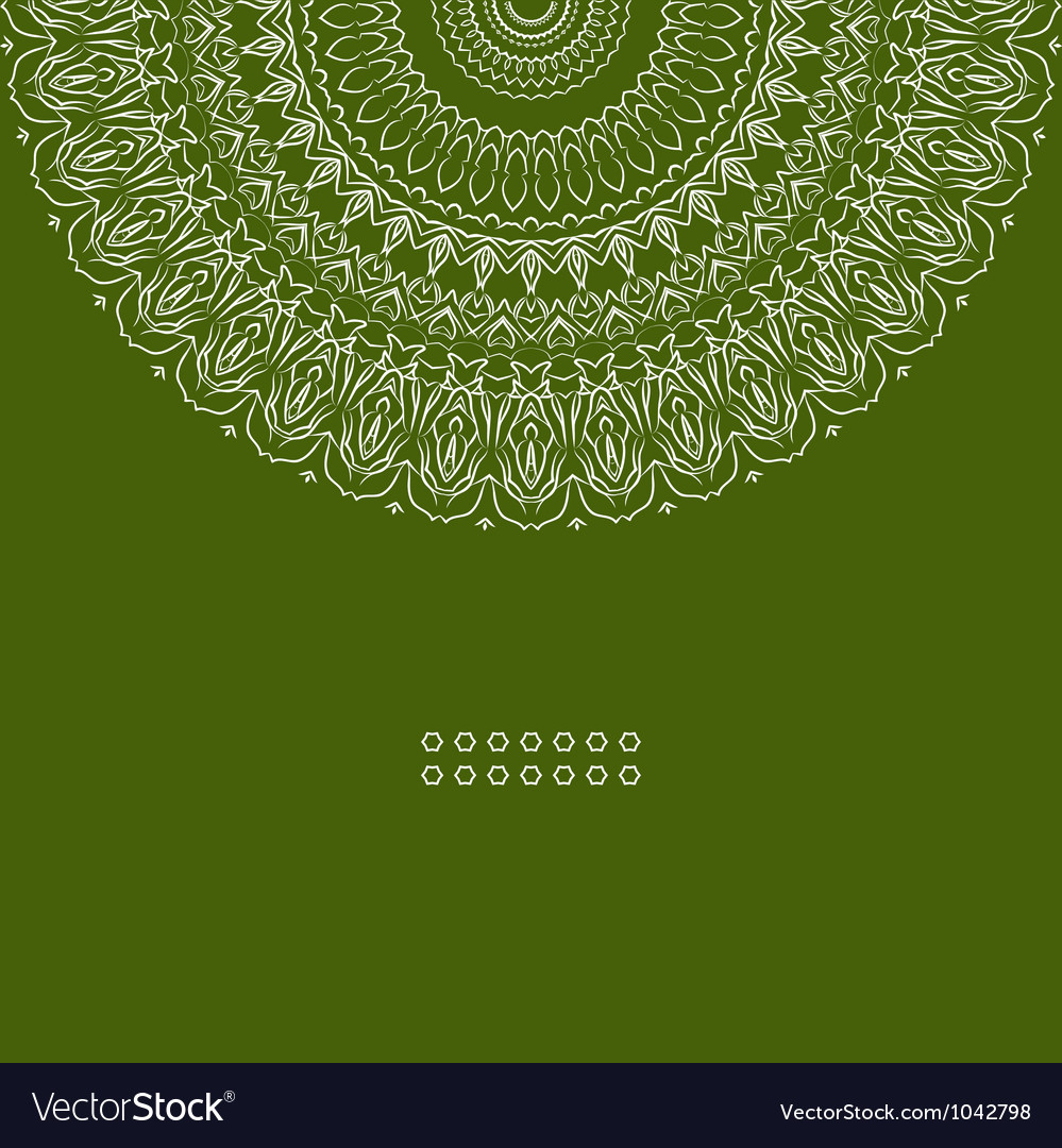 Ornamental ethnicity pattern vector | Price: 1 Credit (USD $1)