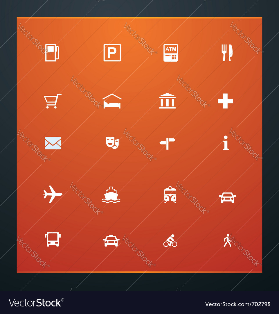 Universal glyphs 19 gps 2 vector | Price: 1 Credit (USD $1)