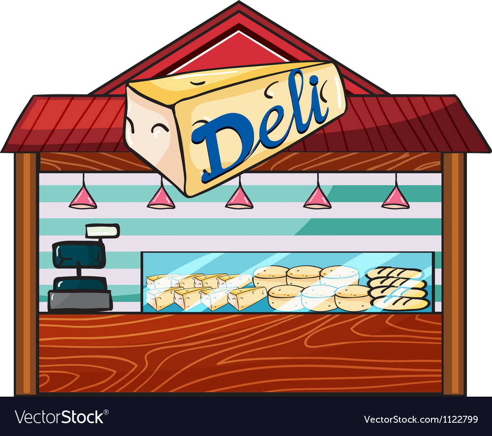 A cheese store vector   Price: 1 Credit (USD $1)