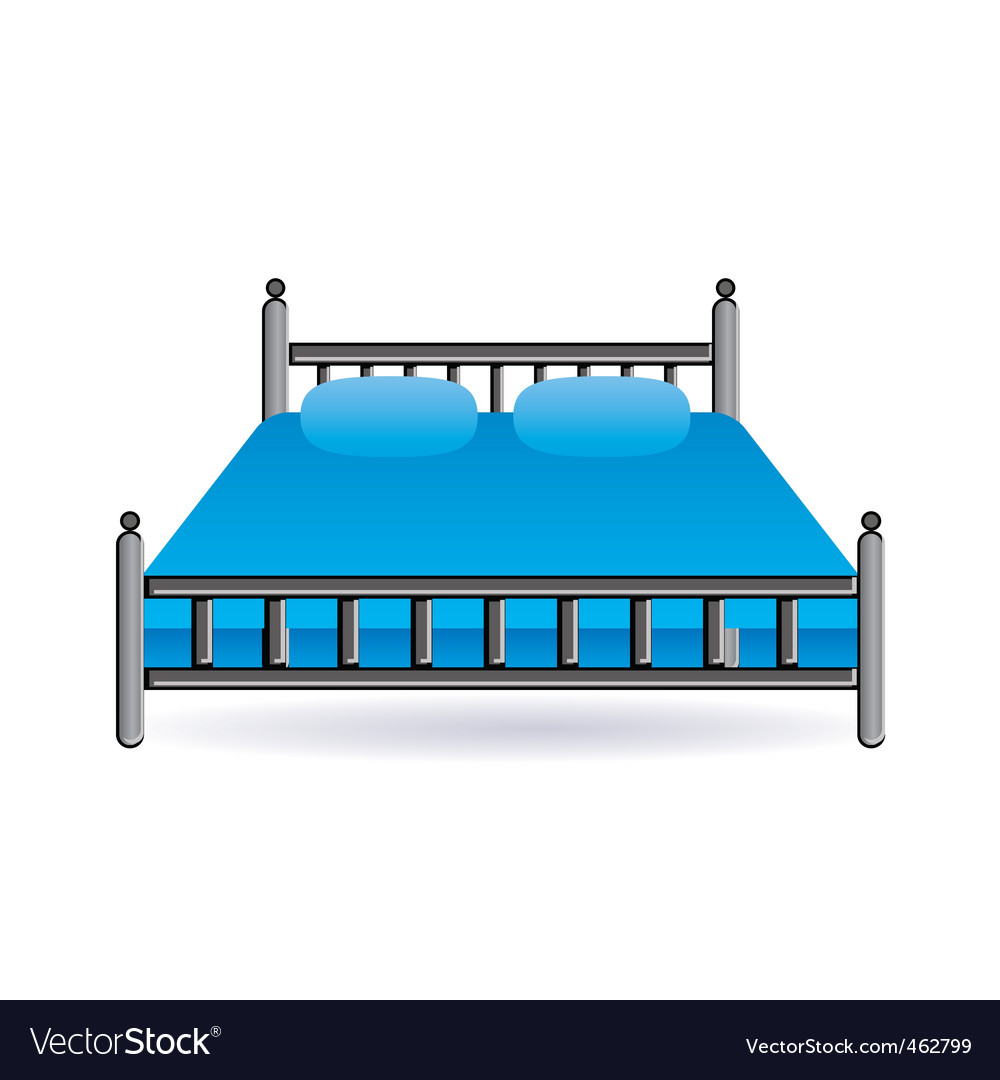 Bed icon vector | Price: 1 Credit (USD $1)