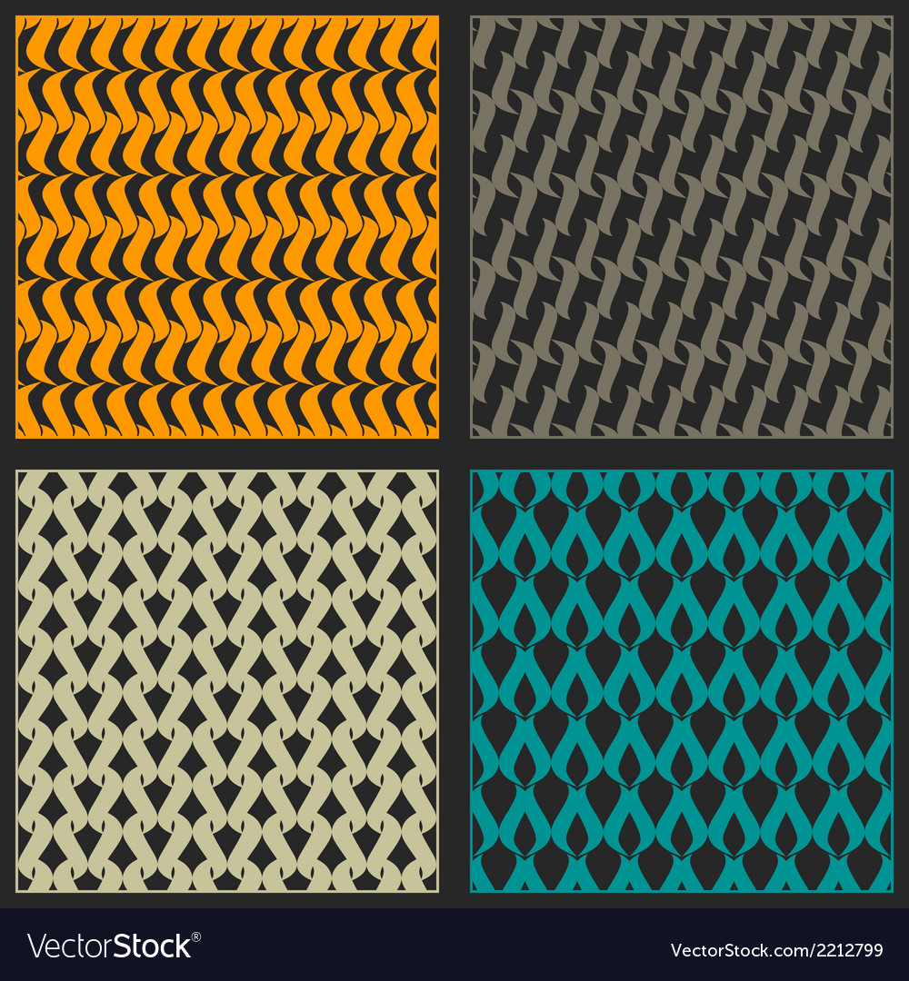 Bright reticulated patterns vector | Price: 1 Credit (USD $1)