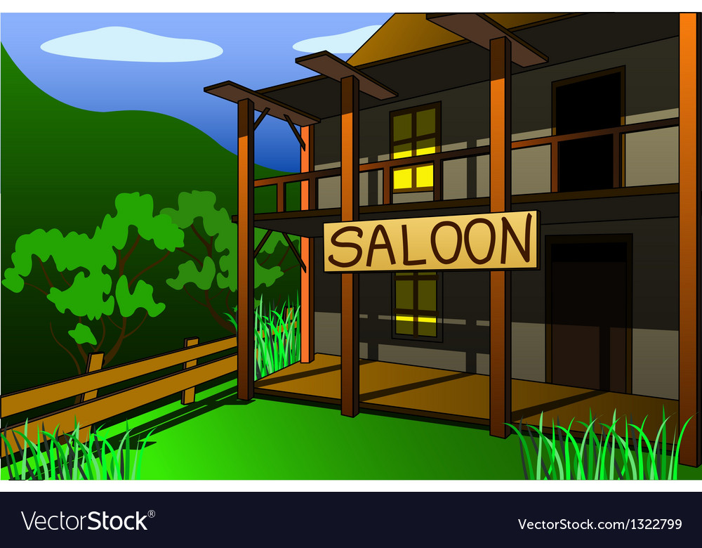 Saloon vector | Price: 1 Credit (USD $1)