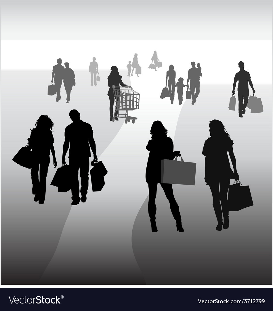 Shopping 2 vector | Price: 1 Credit (USD $1)