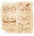 Set of bows sketch vector