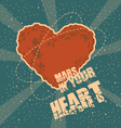 Mars in your heart vector