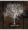 Save our planet poster vector