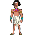 Ancient egyptian citizen vector