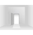 Room with door vector