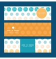 Texture circles stripes abstract horizontal vector
