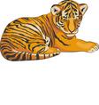 Tiger a vector
