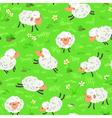 Sheep seamless vector
