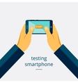 Smartphone testing vector