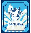 Milk design vector