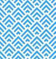Abstract blue and white angle stripes pattern vector