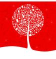 Musical tree2 vector