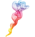 Colourful smoke vector