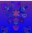 Dark blue abstract pattern vector