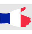 French handshake vector