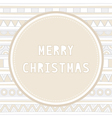 Merry christmas greeting card25 vector