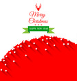 Abstract christmas greeting card background vector