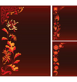 Floral decor vector