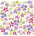 Floral background easter vector