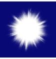 Blue halftone blast eps 10 vector