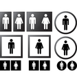 Human signs vector