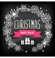 Retail christmas sign vector