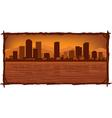 Denver skyline vector
