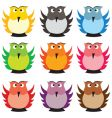 Owls vector