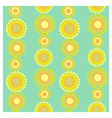 Yellow circles vector