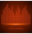 Glass equalizer vector
